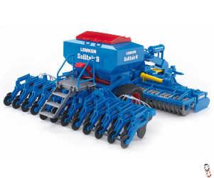 Bruder Lemken Solitair 9 Combination Drill 1:16 Farm Toy