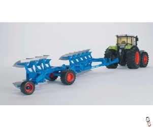 Bruder Lemken Vari Titan 8 Furrow Plough 1:16 Farm Toy