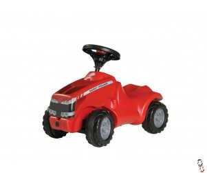 Rollykid Massey Ferguson Push Tractor Ride-On Farm Toy