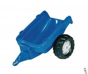 Rollykid Trailer Blue, for Rollykid Ride-On Farm Toys