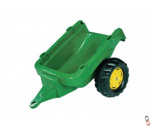 Rollykid Trailer Green, for Rollykid Ride-On Farm Toys