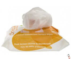 Uniwipe Clinical Midi Disinfectant Surface Wipes - 200 pack