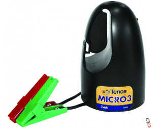 Agrifence Micro 3 Battery Portable 3 Volt Energiser