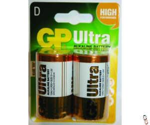 Agrifence D-cell battery 1.5V PK/2