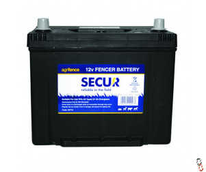 Agrifence 12V fencer/leisure, 75 Ah wet battery