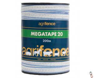 Agrifence Megatape 20mm x 200m