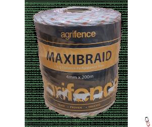 Agrifence Maxibraid braided polywire, 200m