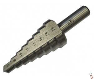 Faithful HSS step drill, 6-20mm