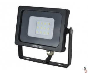 Faithfull LED Floodlight 10W (=100W Halogen) 800 Lumen