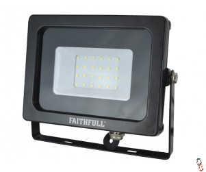 Faithfull LED Floodlight 20W (=100W Halogen) 1600 Lumen