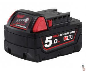 Milwaukee 18V 5.0Ah Lithium Ion battery