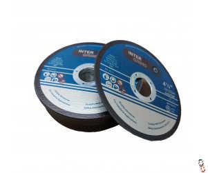"4.5"" Slitting Disc flat Centre - pack of 25"