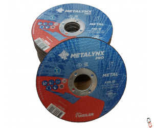 """4.5"""" Cutting Disc Flat Centre - Pack of 25"""