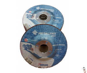 """4.5"""" Grinding Disc Depressed Centre - Pack of 10"""