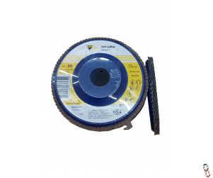 "4.5"" Flap Sanding Disc 80 Grit Depressed plastic centre - Pack of 10"