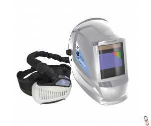 GYSMATIC Air fed true colour welding helmet