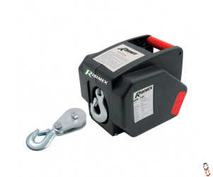 Ribitech 12V portable electric pulley block winch
