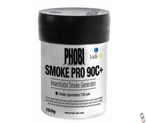 Phobi Smoke Pro 90C+ grain store Insecticidal smoke generator, Pack of 6 x 100g Cannister