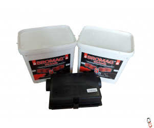 Kill-It Extra Bromodiolone wax bait blocks promotion, 2x5kg tubs with free bait box!