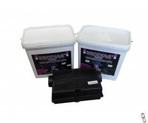 Kill-It Max Brodifacoum wax bait blocks promotion, 2x5kg tubs with free bait box!