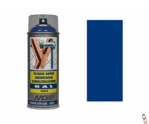 Moore Ultramarine Blue Paint, RAL5002, 400ml aerosol