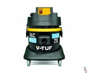 V-TUF 21L Wet & Dry Vacuum cleaner - 240V, 1250W.