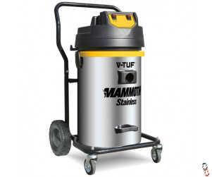 V-TUF MAMMOTH Stainless 80L Wet & Dry Vacuum Cleaner 240V