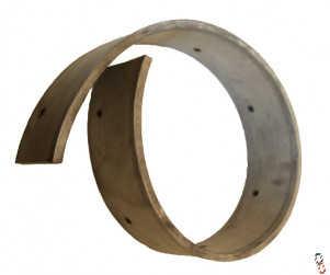 "30"" rubber blade for yard scraper squeegee, HA501794"