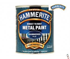 Hammerite Hammered Finish 750ml Direct to Rust Paint