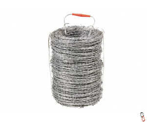 Barbed wire galvanised 1.4mm, Range of Lengths