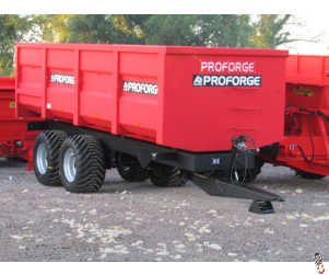 PROFORGE ACE 14 Tonne Grain Trailer, NEW, Standard Door, Sprung Drawbar