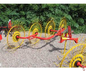 NEW 2019 ACROBAT 4 wheel hay and straw rake/straw turner