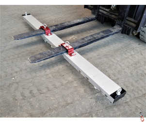 Fork Lift Magnet Sweeper EXTRA-STRONG Forklift Magnetic Sweeper Bar Attachment - Choice of 4 widths 1.2M, 1.5M, 1.8M and 2.1M
