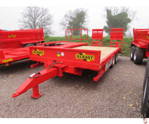 HERBST Lowloader 20ft Beavertail Plant Trailer, 20ft, 13 tonne carry, New