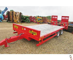 HERBST Lowloader 20ft, Beavertail Plant Trailer, 13 tonne carry, Base Spec, New - In Stock