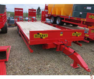 NEW HERBST 24ft, Beavertail Plant Trailer, 13 tonne carry - In Stock