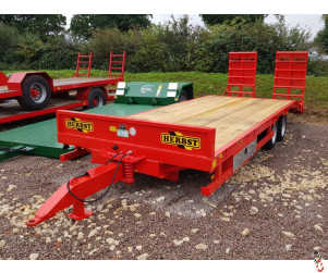 HERBST Lowloader 24ft, Beavertail Plant Trailer, 13 tonne carry - New - 1 arrived in stock!