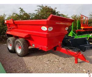 NEW PF Dump Trailer 14 tonne, Hi-Side, Sprung Drawbar, New