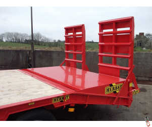 HERBST Lowloader Bale Wedge for Plant Trailers, New