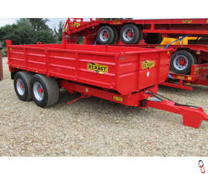 HERBST Dropside 10 Tonne Tipper Trailer - New