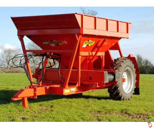 HERBST Gravel / Stone Discharge Trailer, 8 tonne, New