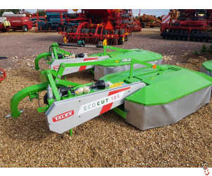 NEW TALEX TWIN DRUM Mower, 1.85 metre, 6ft, New Stock Now Arrived !