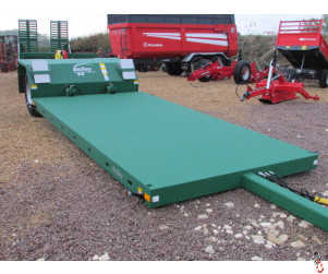 BAILEY 8 tonne Hyd. Drop Flat Bed Low Loader Trailer, New, 2018 - in stock