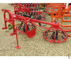 NEW HAYBOB 3 metre twin rotor spreader/tedder/rower,
