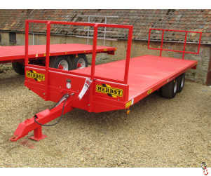 HERBST Bale Trailer, 25ft, 10 tonne Carry, New