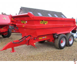NEW HERBST 14 Tonne Rock Dump Trailer,