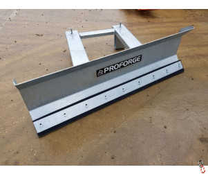 Yard & Snow Scraper  - Fork Mounted, Heavy Duty - 1800mm Wide. Galvanised