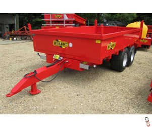 NEW HERBST DUMP LOADER, 10 Ton Tipper, With Ramps  In Stock