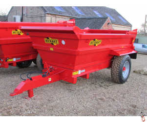 NEW HERBST 8 tonne single axle Dump Trailer,