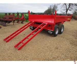 NEW HERBST MINI DUMP LOADER, 6 tonne, tipper c/w ramps,